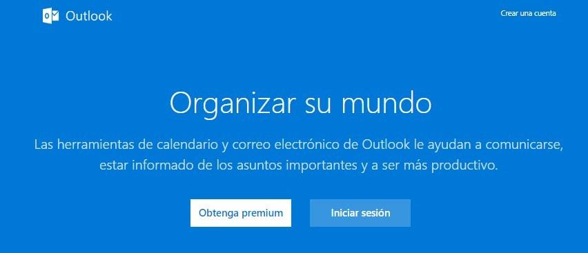 puedes Iniciar sesión en Outlook a través de Hotmail.com