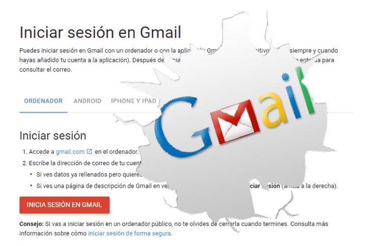 iniciar sesion en gmail fácilmente